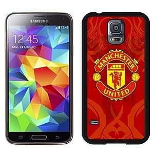 BESTER Unique DIY Designed Case For Samsung Samsung Galaxy S5 I9600 G900a G900v G900p G900t G900w With Soccer Club Manchester United 06 Football Logo Cell Phone Case