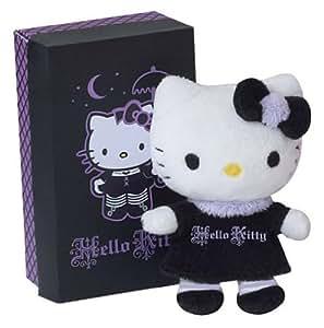 Hello Kitty - Peluche pequeño en una caja de regalo (Violeta)