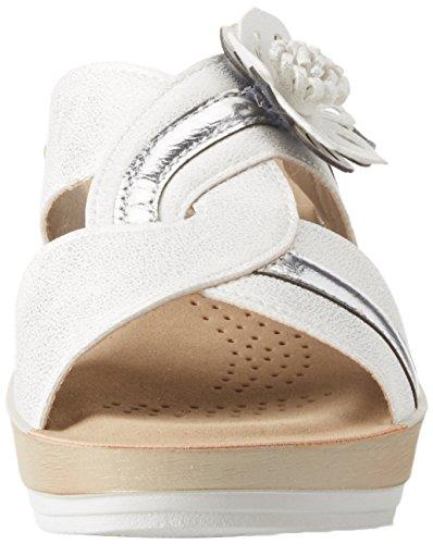 Tongs Erika Blu Femme 001 Bianco Blanc In qAHwg6n