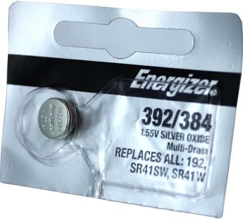 Energizer 392 / 384 Silver Oxide Battery