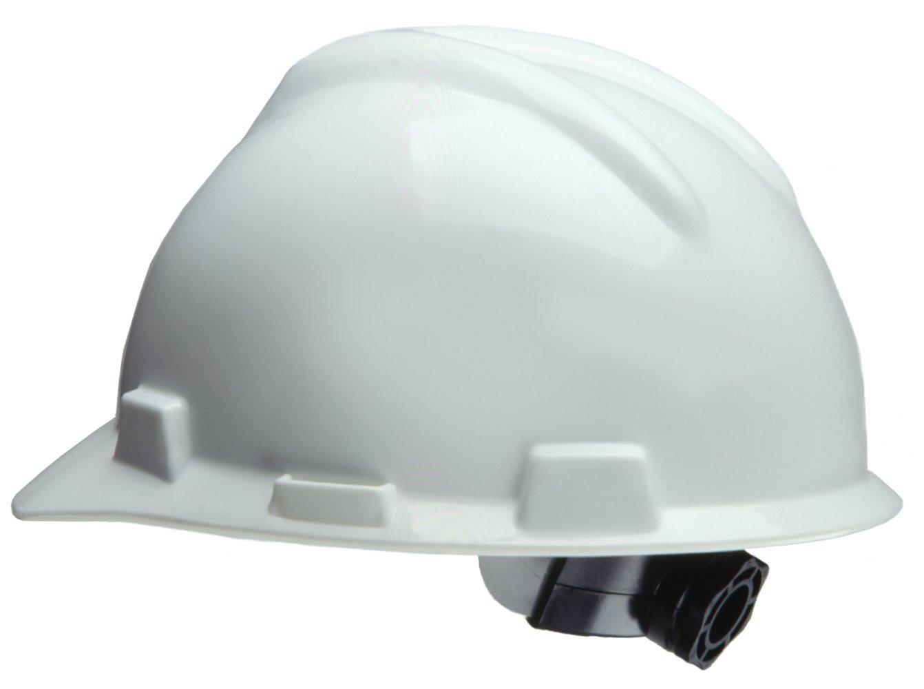 Safety Works 818064 Ratchet Hard Hat, White
