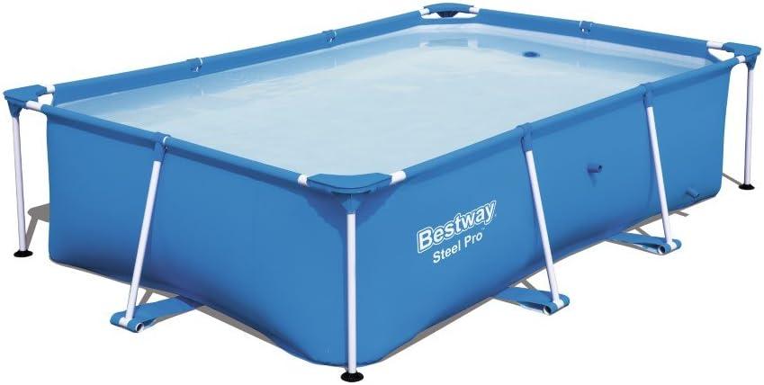 Bestway 56403 - Piscina Desmontable Tubular Infantil Steel Pro 259x170x61 cm