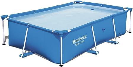 Bestway 56403 - Piscina Desmontable Tubular Infantil Steel Pro ...