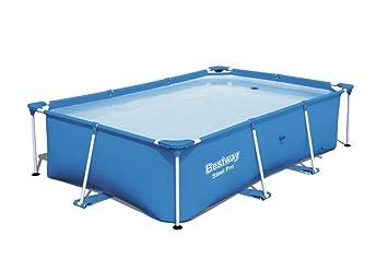 Extrem Bestway Steel Pro Frame rechteckig Pool, ohne Pumpe, blau, 259 x EM77