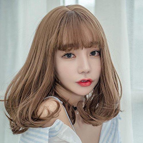Amazon Com Women Still Shoulder Length Wig Pear Head Long
