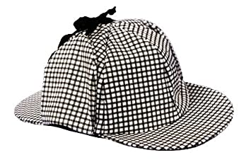 Rasta Imposta Gc143 Sherlock Holmes Black And White Double Billed ... cc6933b5bad
