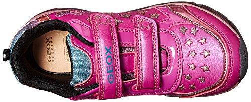 Zapatillas para ni�a, color Rosa , marca GEOX, modelo Zapatillas Para Ni�a GEOX J ANDROID G. A Con Luces Rosa