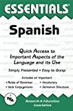 img - for The Essentials of Spanish (REA's Language Series) (English and Spanish Edition) by Ricardo Gutierrez Mouat (1998-01-01) book / textbook / text book