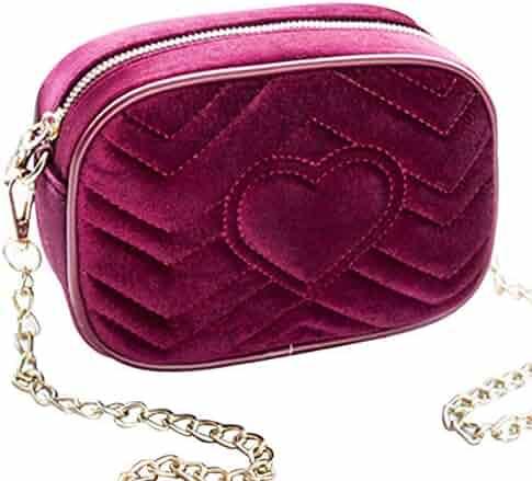 6609b25eef6c Shopping Suede - Reds - Crossbody Bags - Handbags & Wallets - Women ...