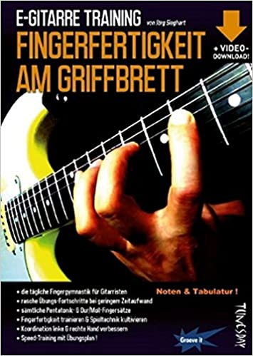 E-Gitarre Training - Fingerfertigkeit am Griffbrett Noten ...