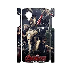 Generic Women Pc Design With Avengers Age Of Ultron Phone Shell For Nexus 5 Drop Resistance