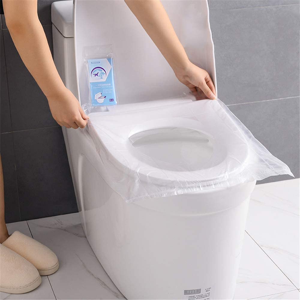 YICIX Papel higiénico, Fundas para Asientos de Inodoro, 10 ...