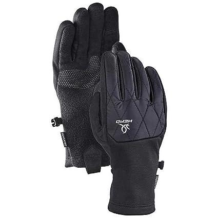 Medium, Black Head Womens Hybrid Glove