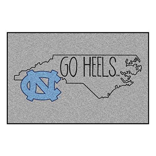 (Fanmats NCAA North Carolina Tar Heels Starter Mat, 19