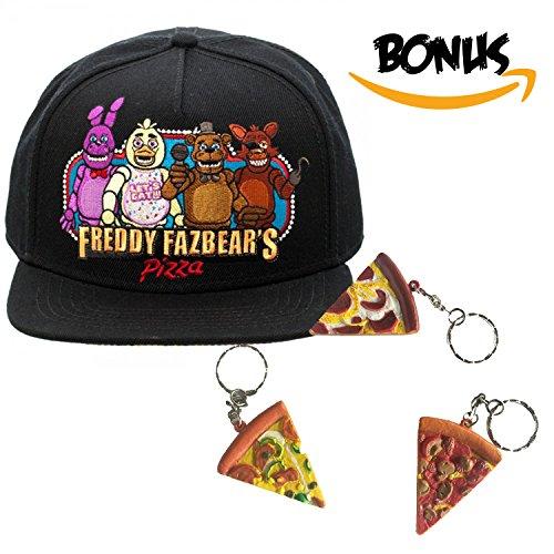 b58e3810305 Bioworld FNAF Five Nights at Freddy s - Snapback Cap Hat   - Import ...
