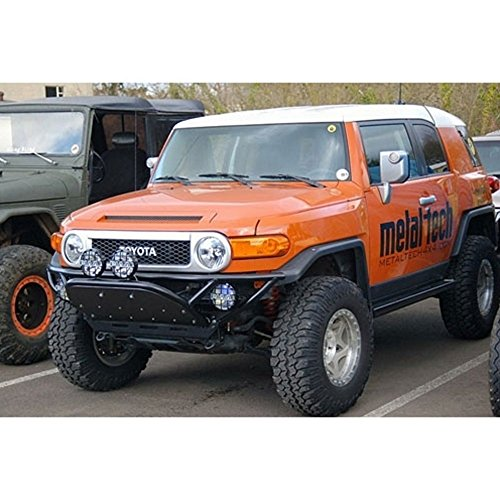Front Bash Plate - Metal Tech FJ Cruiser (2007-14) Front Tube Bumper W/Bash Plate
