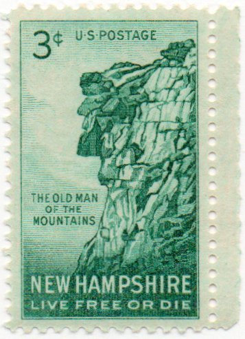 - US Postage Stamp Single 1956 New Hampshire Issue 3 Cents Scott #1068