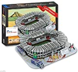 Paper 3d Puzzle Model Mexico Estadio Azteca Aztec Stadium Tour Travel Souvenir