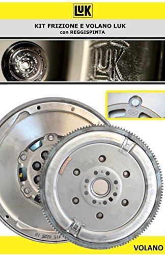 600 0140 00 Kit Embrague 3 piezas + Volante original Luk Código: Amazon.es: Coche y moto