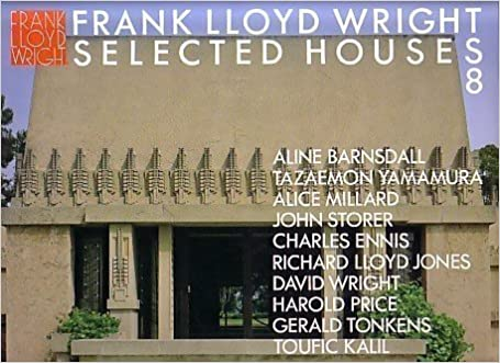 FRANK LLOYD WRIGHT: SELECTED HOUSES 8 by Bruce Brook FRANK LLOYD) (GA). Pfeiffer (1991-05-04)