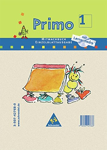 Primo.Fibel - Stammausgabe: Mitmachbuch 1 mit CD-ROM als Loseblattsammlung