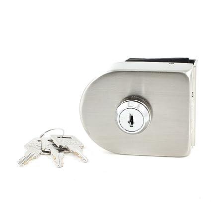 Hogar de plata con cerradura para 13 mm con puertas de cristal