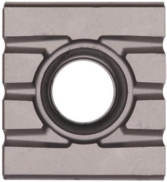 "Sandvik Coromant T-MAX SCREW CLAMP  Carbide Milling Insert, 215 Style, Rectangular, SMA Grade, Uncoated, 21531211111,0.205"" Thick, 0"" Corner Radius (Pack of 10)"
