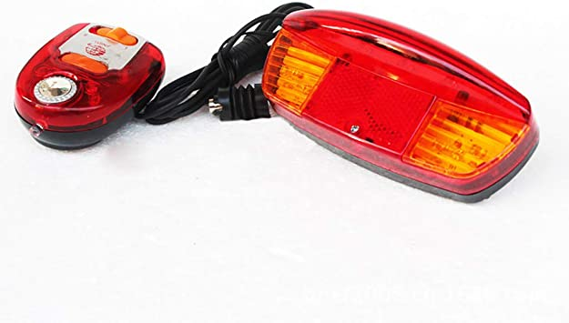 Waterproof USB Rechargeable Bike Rear Tail Light LED Bicycle Warning Safety Lamp