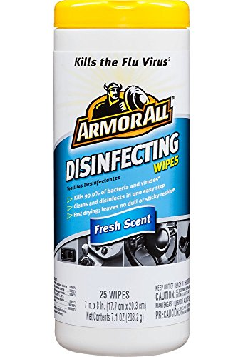 Armor All Disinfecting Wipes - Fresh Scent (25 count)