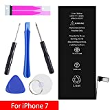 GOGO ROADLESS iPhone 7 Battery Replacement Kit, Complete Repair Tools Kit & Adhesive, High Capacity(1960mAh) Battery for iPhone 7 - [12-Month Warranty]