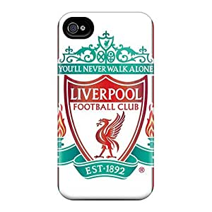 JasonPelletier Iphone 6plus Shockproof Hard Cell-phone Case Customized Nice Popular Football Club England Liverpool Image [ovp14165NSZJ]