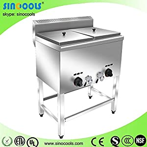 Hot!!! Alibaba 2014 New Products Top Potato Chips Making Gas Fryers hot sale