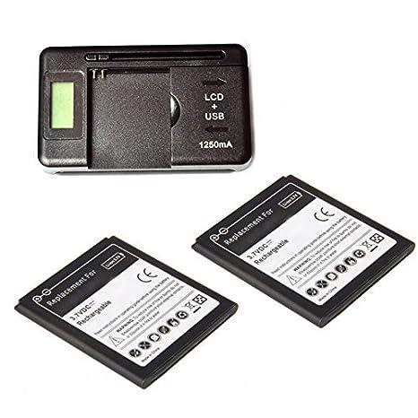 Mondpalast ® 2 x Bateria 3000 mah + Cargador EU Para LG ...