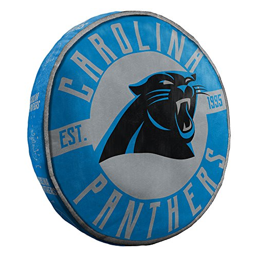 Northwest Carolina Panthers NFL 15in Cloud Travel Pillow