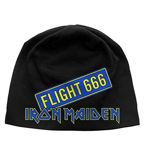 Iron Maiden Flight 666 Discharge Beanie Hat/Berretto