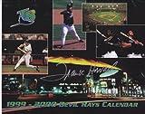 Frank Howard Autographed / Hand Signed 1999-2000 Tampa Bay Devil Rays Calendar -