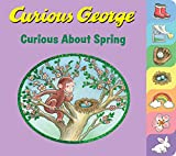 Curious George Curious About Spring (tabbed board book)