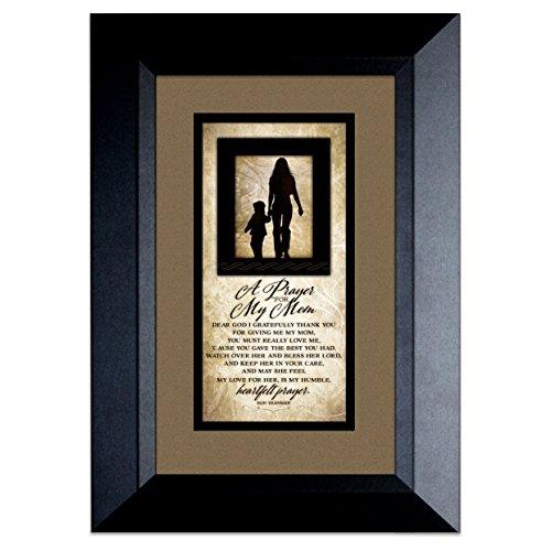James Lawrence Mom Prayer Wood Frame - Silhouttes 8.5