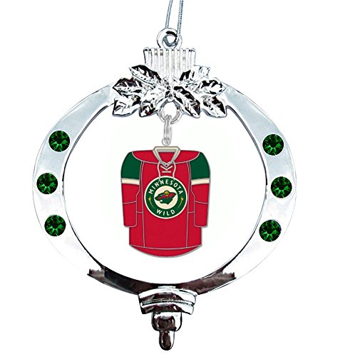 Final Touch Gifts MINNESOTA WILD Jersey Christmas Tree Ornament
