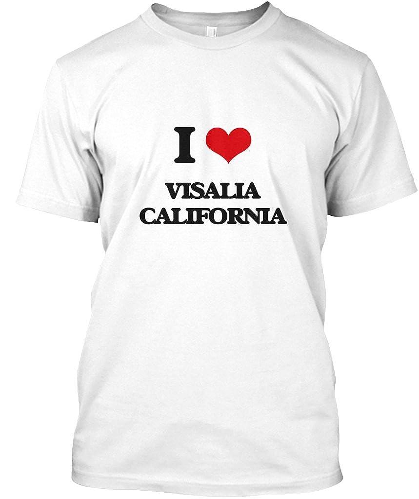 Amazon I Love Visalia California Tshirt Hanes Tagless Tee