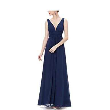 CAFSKYE Woemn Bridesmaid Dresses Double V