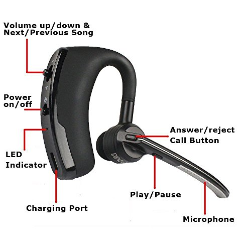 Buy new ilive bluetooth earbuds with microphone black