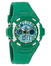 Men's Watches by Sportech - Digital Green Water Resistant Sport Watch - Make Every Second Count - SP10613