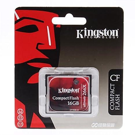 Amazon.com: Kingston memoria flash cf/16gb-u2 16 GB ...