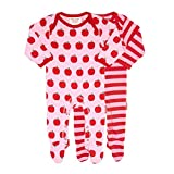 Toby Tiger Apple Footies 2 Pack 6-12m 80cm