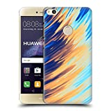 Official Andi Greyscale Two Sides of One Extreme Abstract Marbling Hard Back Case Compatible for Huawei P8 Lite (2017)