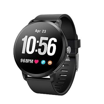 YWHY Relojes Hombres Mujeres Reloj Inteligente Actividad Fitness Tracker Monitor De Ritmo Cardíaco Deportes Reloj De Pulsera Inteligente, D: Amazon.es: ...
