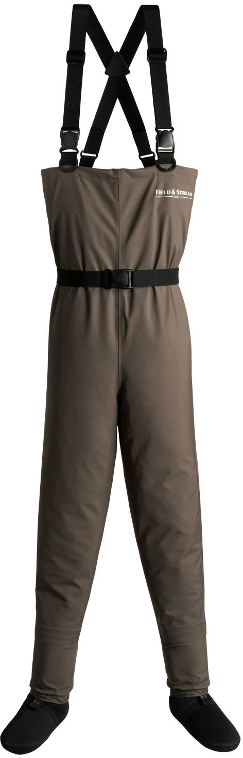 Field & Stream Youth Breathable Chest Waders - Brown, XL