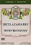 Tadin Tea Siete Azahares, 1.01-Ounce (Pack of 6) For Sale