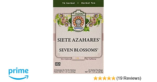 Amazon Com Tadin Tea Siete Azahares 1 01 Ounce Pack Of 6
